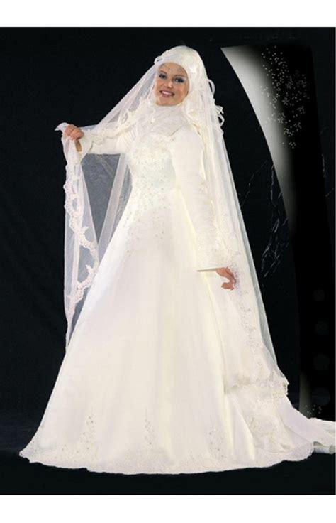 Brautkleid Mit ärmeln Schlicht by Islamische Hochzeitskleider