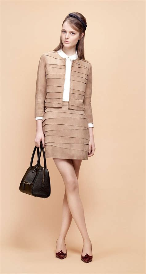 Fashion B077 1 1 paule ka goatskin suede jacket fall and winter fashion trajes elegantes traje