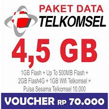 pembagian kuota telkomsel 5gb telkomsel data internet up to 4 5gb simpati kartu as