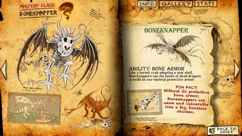 your page books boneknapper page jpg dragons httyd and hiccup