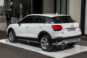 a new audi s q2 compact suv shown in sydney