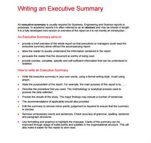 sle executive report 5 documents i n pdf word