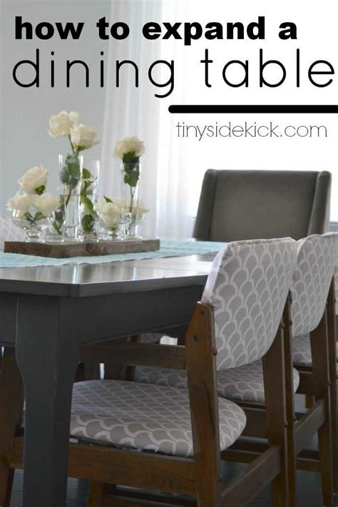 how to extend dining table how to extend a dining table an almost failed attempt