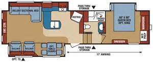 k z spree travel trailer floor plans trend home design