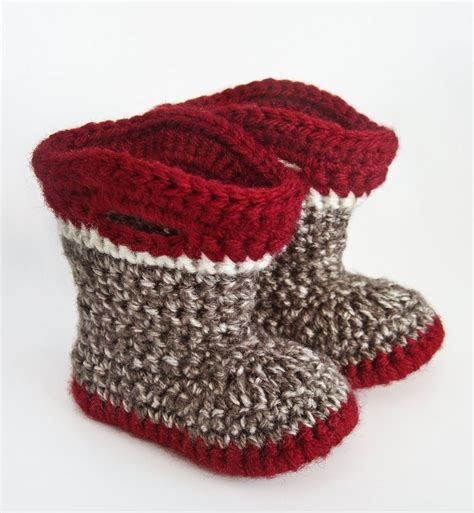 crochet monkey slippers seriously daisies sock monkey cuteness made these for a