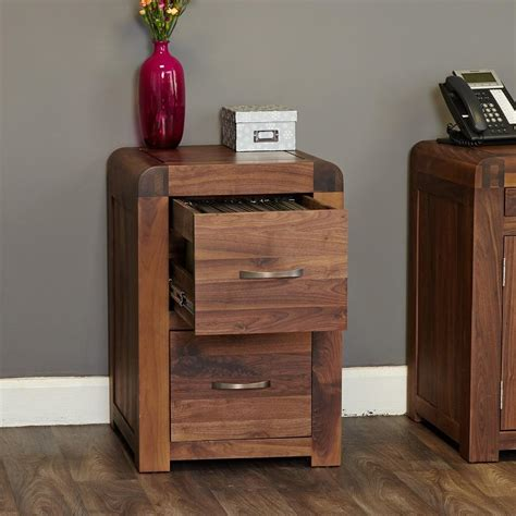 sophisticated walnut small filing cabinet