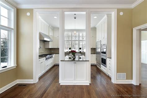 Traditional White Kitchen Cabinets | pictures of kitchens traditional white kitchen