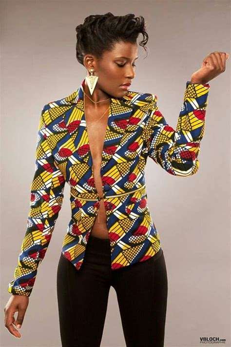african fashion love on pinterest african fashion style african print jacket wax modern style africa fashion