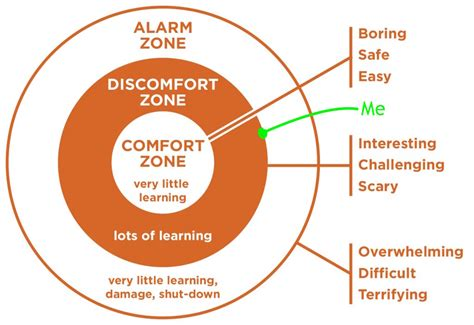 comfort zone in a relationship invandraren discomfort zone stress vulnerability and trust