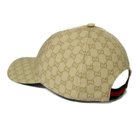 Jual Gucci Cap 1 1 Like Authentic gucci beige 387561 gg guccissima web stripe baseball cap hat tradesy