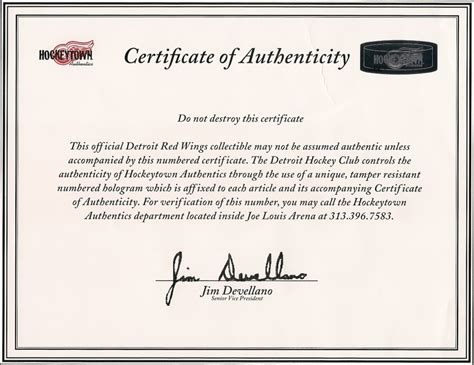 statement of authenticity template when does your letter of authenticity matter gameworn us