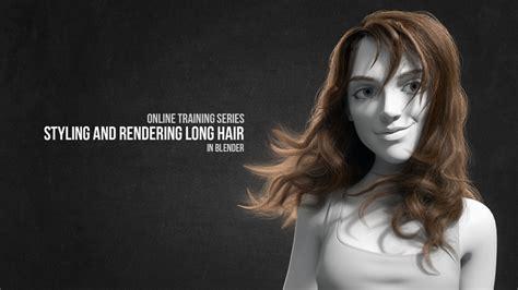 blender 3d hair tutorial creating stunning long hair in blender with cycles