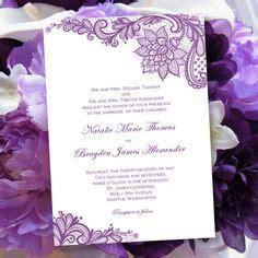 wedding invitation printing san jose top 25 ideas about vintage purple wedding on