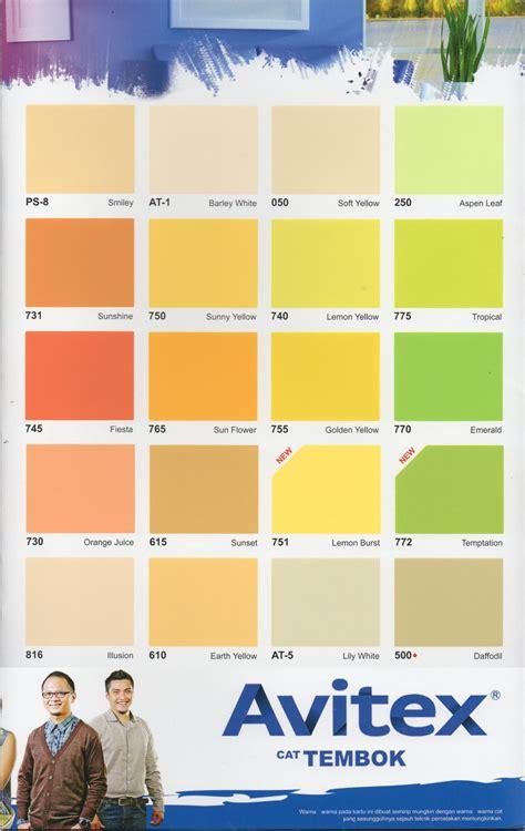 gaya terbaru  warna cat kamar avitex