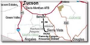 hereford arizona map ramsey preserve arizona desertusa