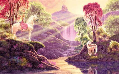 imagenes de unicornios con mujeres cuadros modernos pinturas y dibujos paisajes con