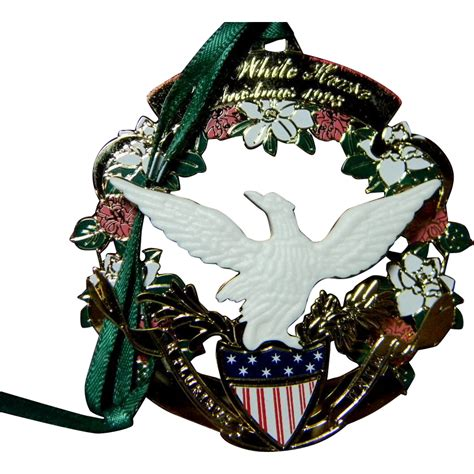 White House Historical Association Ornament From Carolines On Ruby Lane