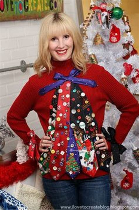 most creative holiday sweaters diy home sweet home 6 creative sweater ideas