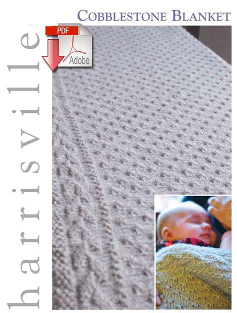 knitting pattern design software free cobblestone blanket pattern download harrisville designs