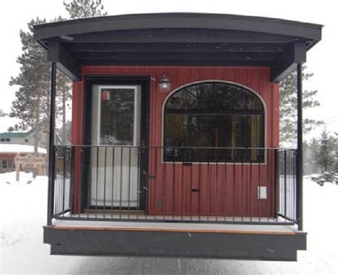 Caboose Transformed Into A Tiny House Check Out How This Caboose Tiny House