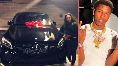 nba youngboy buys jania   mercedes benz brand  car