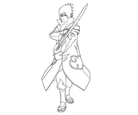 sasuke uchiha 29 coloring crafty teenager