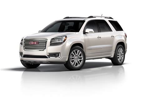 gmc adacia 2016 gmc acadia introduced with onstar 4g lte autoevolution