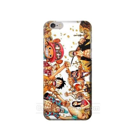 Luffy One Iphone 6 Plus Custom Flip Cover one straw hat luffy pirate crew iphone 6 plus iphone 6s plus now i6p limited quantity