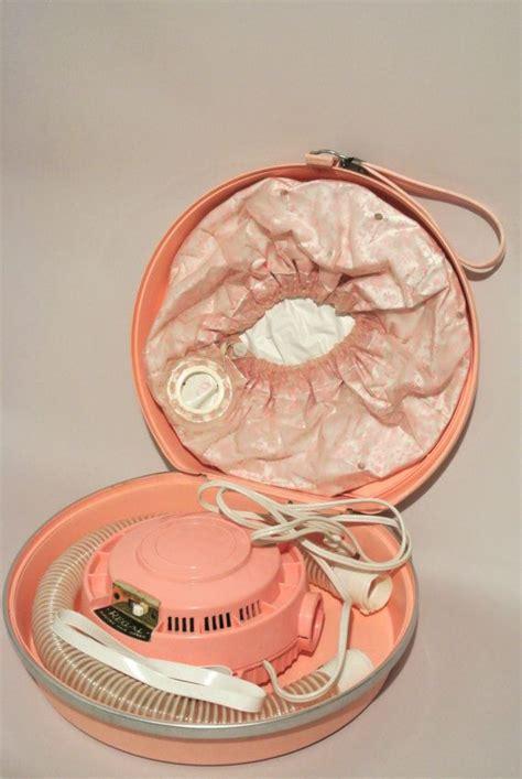 Vintage Conair Hair Dryer 60s vintage hair dryer bubblegum pink regal electric