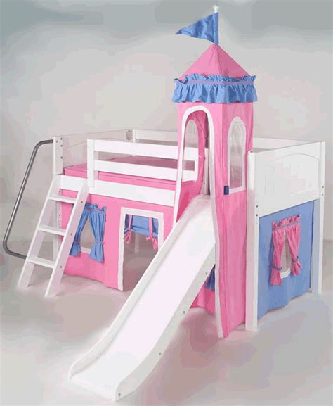 girls castle bed mini castle bed for girls in white by maxtrix kids hot
