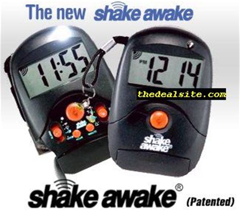 shake awake clock at thedealsite save