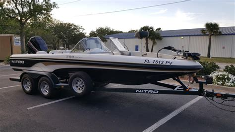 nitro sport boats for sale craigslist nitro 288 nitro vehicles for sale