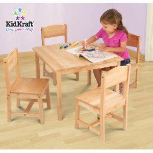 kidkraft farmhouse table 4 chairs 21421