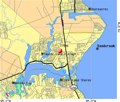 map of seabrook texas 77586 zip code seabrook texas profile homes apartments schools population income
