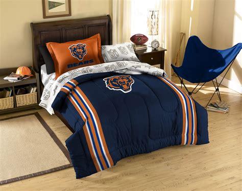 chicago bears comforter chicago bears bedding set nfl football comforter sheets