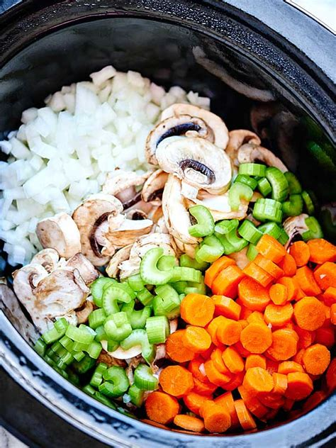 crockpot chicken wild rice soup an easy healthy recipe