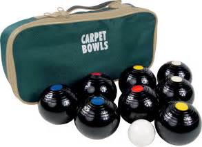 Ideas For Christmas Table Gifts - carpet bowls