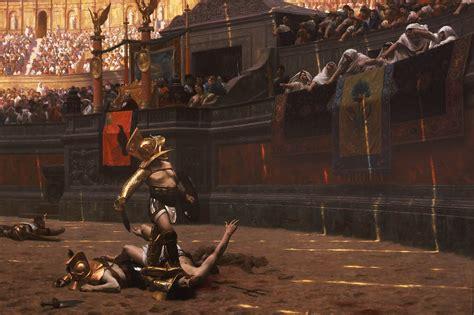 gladiator un film une histoire une histoire de doigts un article d omnilogie fr