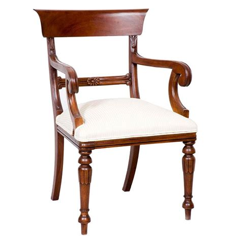 Scroll Arm Chair Design Ideas Regency Scroll Chair With Arms Fabulous Furniture
