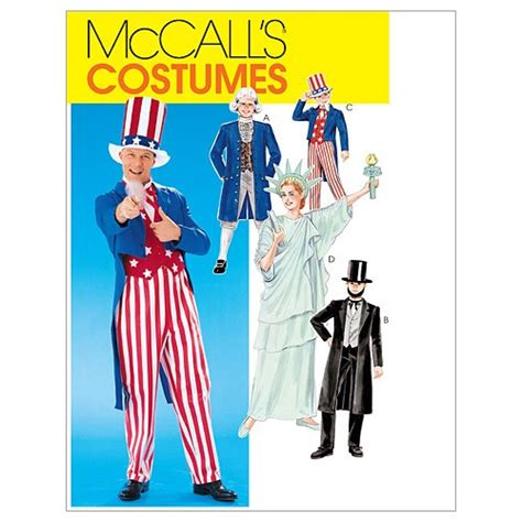 sewing patterns young adults adults boys girls costumes mccalls pattern 6143 sew