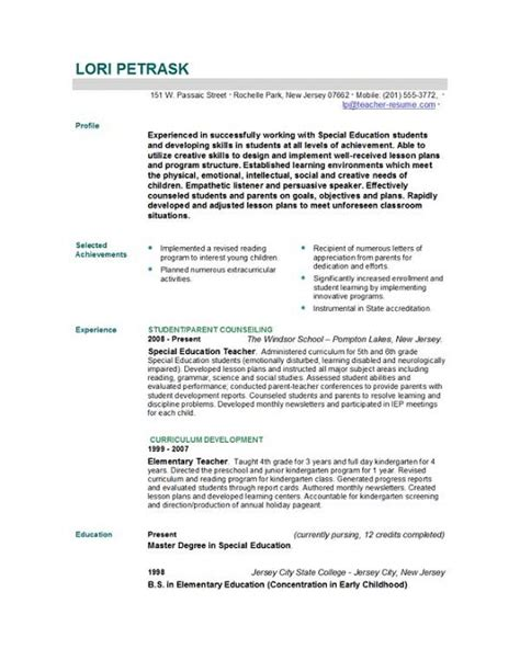 teaching curriculum template best photos of teaching cv template cv template