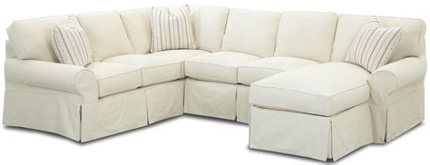 Sectional Slipcover Sofa Slip Covered Sectional Sofas Sectional Sofa Slipcovers Thesofa