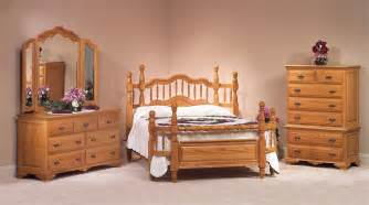 Wood Bedroom Sets Oak Wrap Around Bedroom Set From Dutchcrafters Amish Furniture