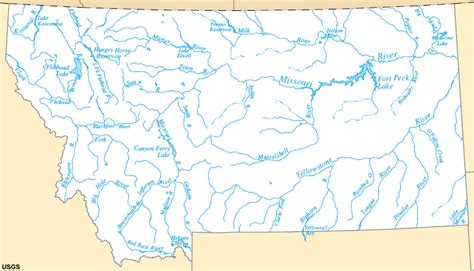 map of rivers in montana map of montana rivers swimnova