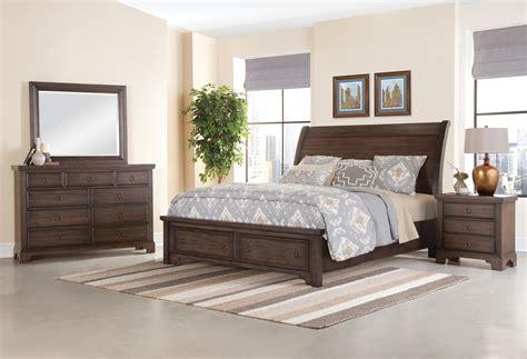 Bassett King Bedroom Sets by Vaughan Bassett Whiskey Barrel King Bedroom