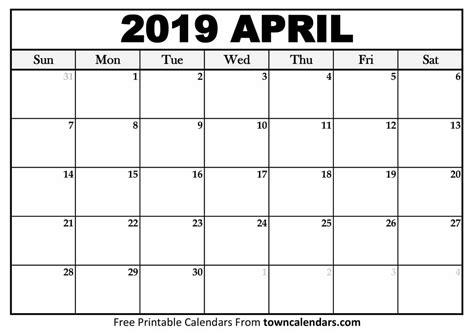 printable april 2018 calendar download print calendars from free