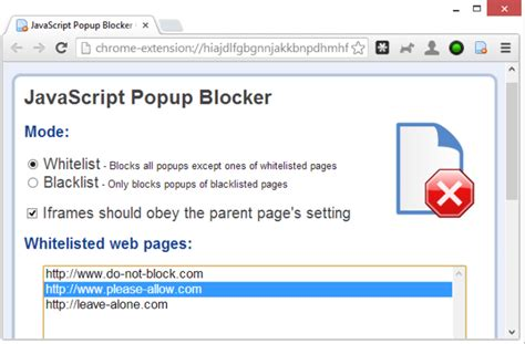 popup blocker for microsoft edge techsort eliminate pop ups and pop unders with chrome s javascript