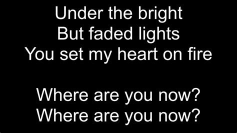 alan walker where are you now lyrics alan walker faded letra youtube