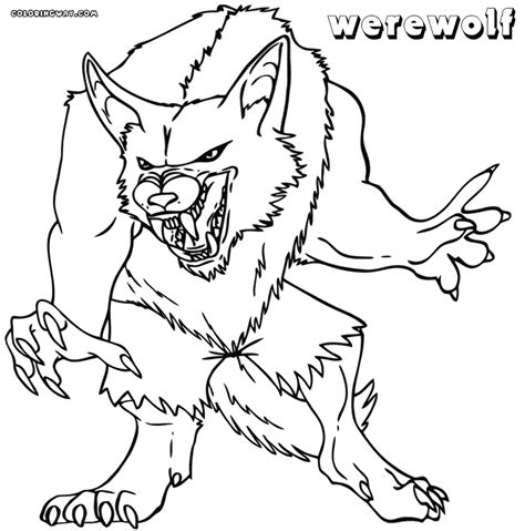 werewolf coloring pages online werewolf coloring pages coloring pages to download and print