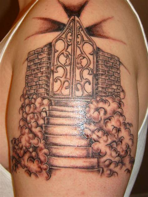 gates of heaven tattoo designs heaven tattoos designs ideas and meaning tattoos for you